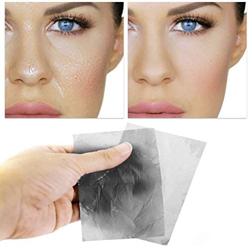 natural bamboo charcoal oil absorbing blotting tissue premium quality and easy to use for oily product image