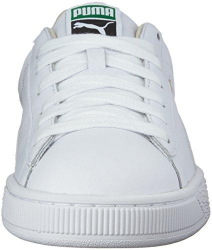 PUMA Basket Classic LFS, Zapatillas Unisex Adulto, Blanco (White/White), 36 EU