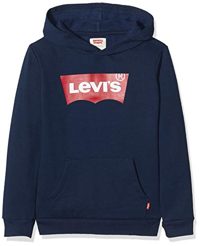 Levi's Kids Jungen Pullover Lvb Batwing Screenprint Hoodie Dress Blues 12 Jahre