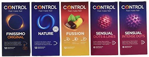 Control Pleasure Mix Cofanetto preservativi assortiti - 48 profilattici