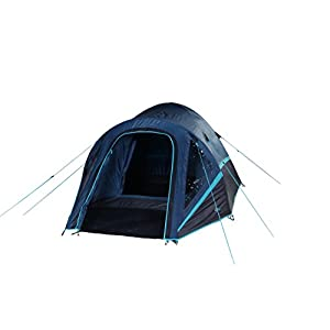 Portal Outdoor Blue Active Range Tents - Large Porch, Fibreglass Poles and Sewn-in Groundsheet, Sleeps up to 4 People, Includes Free Storage Bag