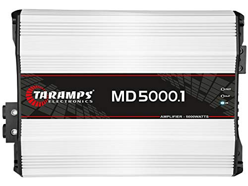 Taramp's MD 5000.1 2 Ohms 5000 Watts Class D Full Range Mono Amplifier