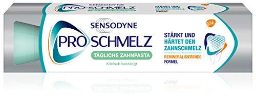 Sensodyne ProSchmelz Tägliche Zahnpasta, tägliche Zahnpasta mit Fluorid, bei säurebedingtem Zahnschmelzabbau, 1x100ml