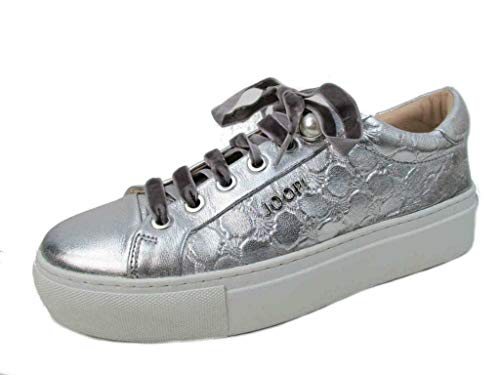 Joop! Damen New Daphne LFU 1 Sneaker, Silber (Silver 952), 41 EU