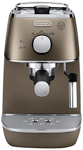 De'Longhi ECI 341.BZ DISTINTA Espressomaschine mit Cappuccino-Aufschäumdüse
