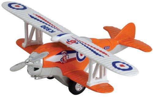 Show Flights Biplane Pullback (Orange)