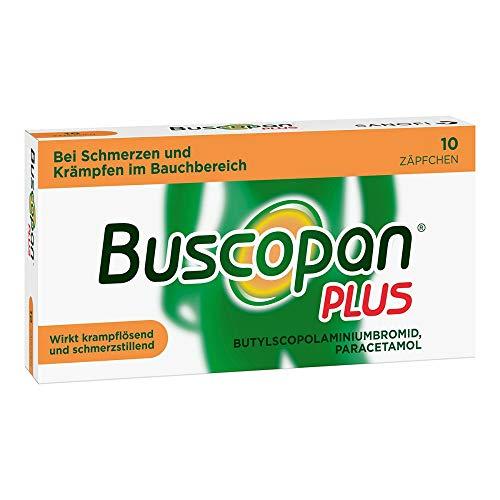 Buscopan PLUS Zäpfchen mi 10 stk