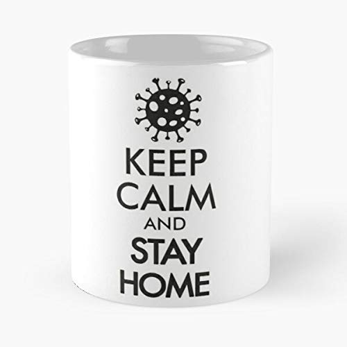 Stay Home - Safe Classic Mug 11 Ounces Funny Coffee Gag Gift.the Best Gift For Holidays-miinviet.