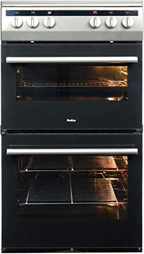 Amica AFC5100SI 50cm Electric Double Cavity Cooker With...