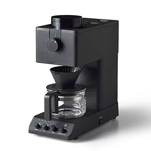 ツインバード 全自動コーヒーメーカー ブラック CM-D457B カフェ ・バッハ監修 新品・正規品