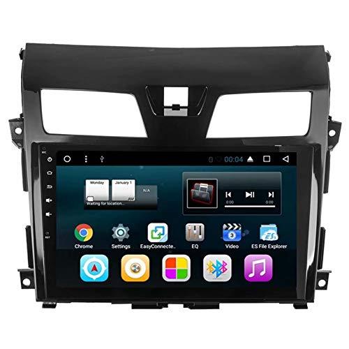 TOPNAVI 32GB 9 Pouces Voiture Navigation pour Nissan Teana 2013 2014 2015 2016 Android 7.1 Voiture autoradio Lecteur stéréo avec 2 Go de RAM WiFi 3G RDS Lien Miroir FM AM BT Audio vidéo