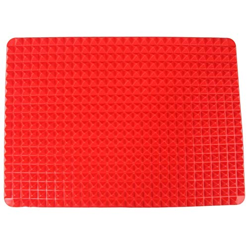 Fewear 1 Pc Pyramid Pan Nonstick Silicone Baking Mat Mould Cooking Mat Oven Baking Tray