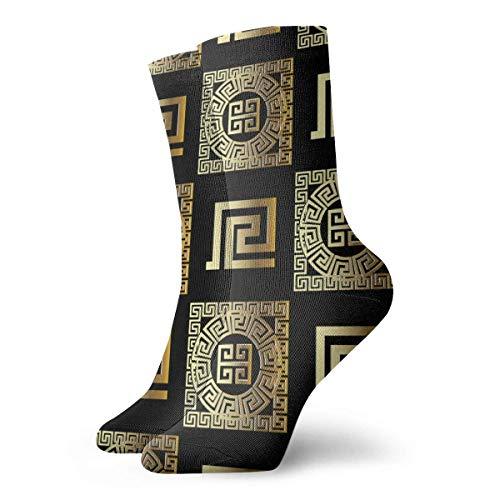 NA Geometrische moderne nahtlose Muster Neuheit Lustige verrückte Crew Socke Coole Unisex Sport Athletic Socken 30cm lange personalisierte Geschenksocken