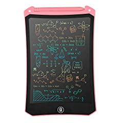 Multi-Purpose & Multi-Colors: Electronic writing tablet, a greater helper for drawing ,note taking, memo, reminding, massage, draft ,scrawl and etc. Ideal tool for kids, show your child's creativity and Imagination with color! The perfect gift for bo...