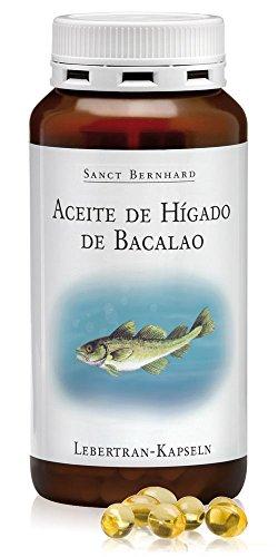 Aceite de Hígado de Bacalao 500mg – 200 Cápsulas