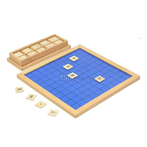100 chart tiles - 9