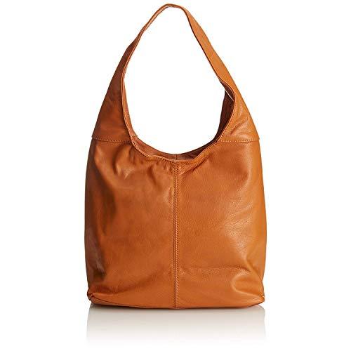 Chicca Borse El hombro de la mujer bolso de cuero 41 x 55 x 12 cm - mod. Lidia