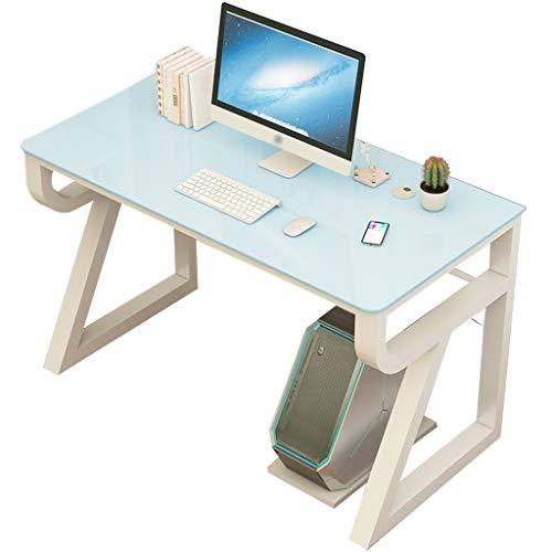 Mesa Cristal computadora de Escritorio de Tabla del Escritorio de pie del Monitor Soporte Escritorio Dormitorio Juego Tabla Inicio del Escritorio del Ordenador Estudiante Estudio
