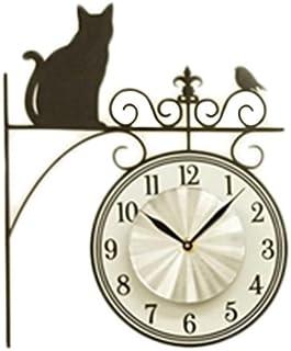 東洋ケース 置き時計・掛け時計 ブラック 30.5×1×31.5cm