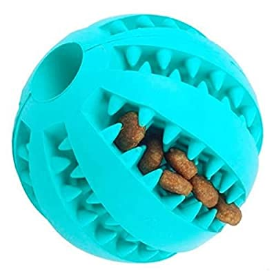 Doggy Direct Teeth Cleaning Treat Ball Toy for Dogs (Large 7cm)