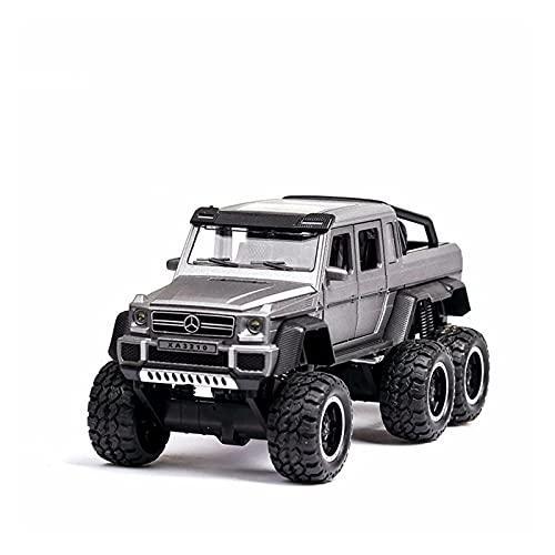 Boutique Modelos Coche Fundido A Presión Aleación para G63 6WD AMG, Suspensión Automóvil Simulación, Vehículo Todoterreno, Juguetes para Niños, Regalo (Color : 2)