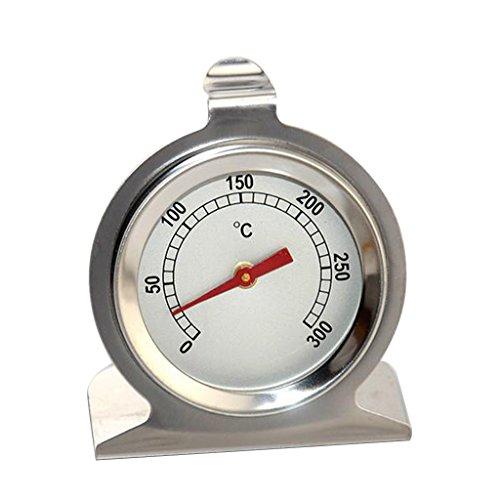 FLAMEER 0-300 ° C Edelstahl Backofenthermometer Ofenthermometer Küche Backen Werkzeug