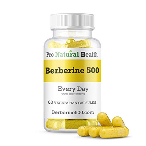Special Introduction Offer: Berberine 500 mg I 60 high Strength Capsules I Supports Healthy Blood Sugar Levels I 100% Vegan & Organic