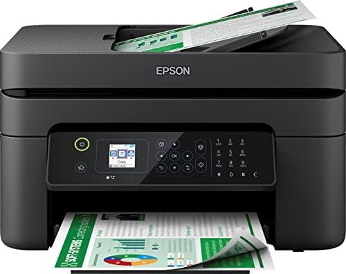 Epson Imprimante WorkForce WF-2835, Multifonction 4-en-1 pro : Imprimante recto verso / Scanner / Copieur / Fax, Chargeur de documents, A4, Jet d'encre couleur, Wifi Direct, Cartouches séparées