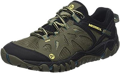 Merrell Men's All Out Blaze AERO Sport Hiking Shoe, Dusty Olive, 8.5 M US