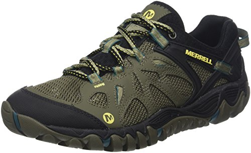Merrell Men's All Out Blaze AERO Sport Hiking Shoe, Dusty Olive, 13 M US