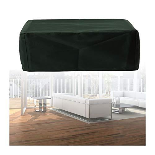 YJFENG Cubiertas para Muebles De Jardín, Impermeable Al Aire Libre A Prueba De Polvo, para Asientos Rectangulares, Muebles De Ratán Paño Oxford con Bolsa De Almacenamiento