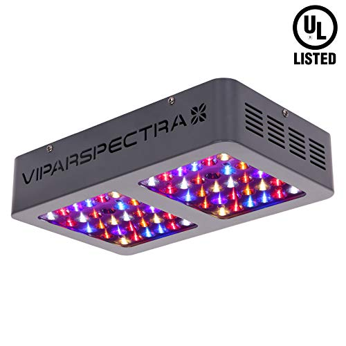 VIPARSPECTRA UL Certified 300W LED Grow Light, with Daisy Chain, Full Spectrum Plant Growing Lights for Indoor Plants Veg and Flower