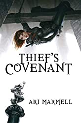 Thief's Covenant, Ari Marmell, vlog, backlist love, book blog, ya books, The Book Rat, BookRatMisty
