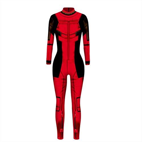 WSJDE Mode Mystique Hero Anime Aquaman Frau mera Cosplay DeadpoolsexykostümKarnevalHalloween kostüme für Erwachsene s md-t208003