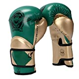 Guantes de boxeo para niños de HUINING para niños de 3 a 15 años, guantes de entrenamiento para niños de piel sintética de poliuretano, guantes de boxeo para jóvenes, 170 g