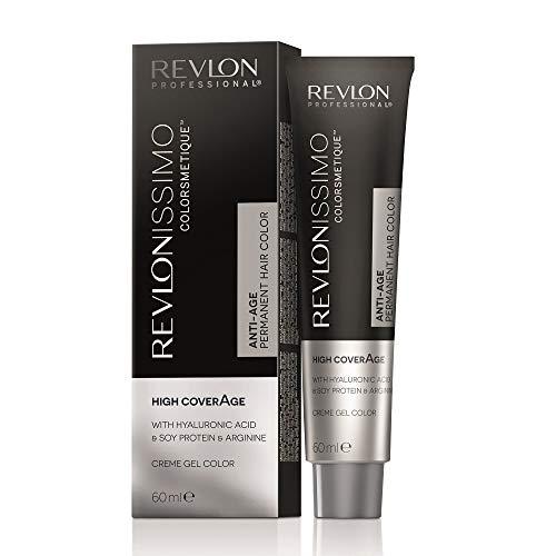 REVLON PROFESSIONAL Revlonissimo Colorsmetique Permanente Haarfarbe, 8.12 Hellblond Perlmutt , 1er Pack(1 x 60 ml)