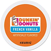 24-Count Dunkin' Donuts French Vanilla Coffee Medium Roast