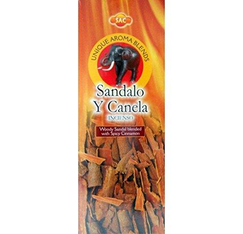 SAC Incienso Sandalo y Canela - Set de 6 paquetes hexagonales