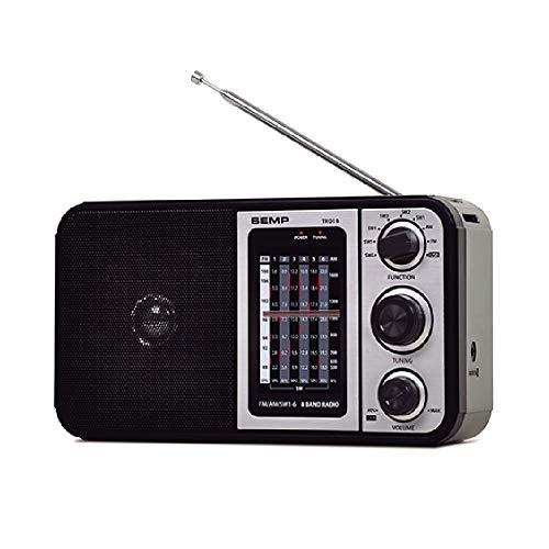 Rádio Portátil AM FM Semp TR01B com 10 Faixas