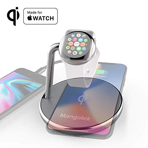 apple watch and iphone wireless charger
