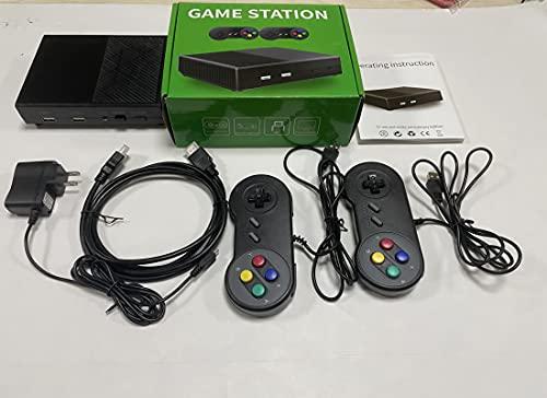 520 Console di Gioco retrò Mini Console 4K 821 Giochi Classica TV Lettore di Giochi Console per Videogiochi per Famiglie, Supporto per l espansione della Scheda TF