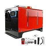 lingzhuo-shop Calentador de Combustible Diesel de Aire 12v 24v 5kw Calentador de Coche Portatil Eléctrico Gasoil Descongelador Cristal Niebla Descongelación 37x25x30cm