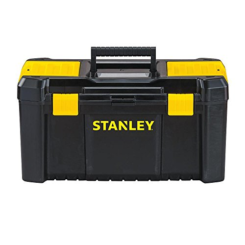 """Stanley Tools and Consumer Storage STST19331 Stanley Essential Toolbox, 19"""", Black/Yellow"""