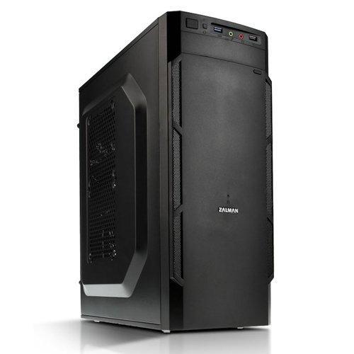 Zalman ZM-T1 PLUS - Caja de ordenador de sobremesa (ventana lateral, 2 x USB, microATX, miniATX), negro: Amazon.es ...