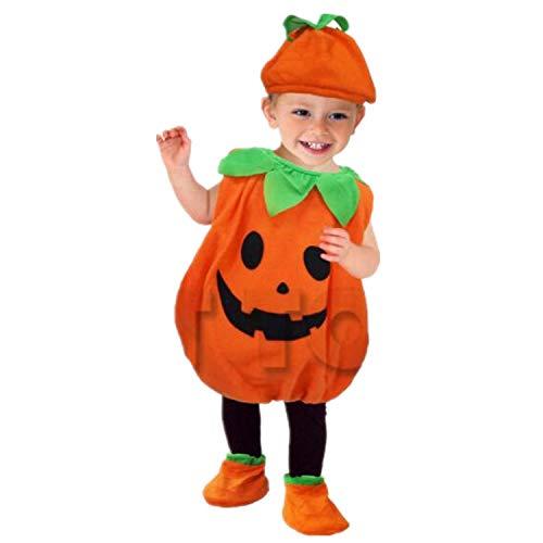 Xiaoai's winkel Halloween baby kostuum modellering, COSPLAY plant pompoen schattige baby kleding geladen role-playing, hoogte, 80CM