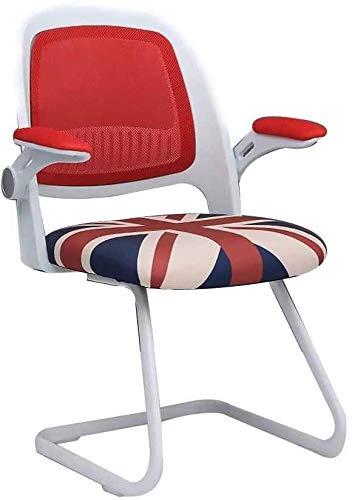 Silla giratoria para ordenador de 360 ° Rotación de hogares moderna, simplicidad, silla de oficina, silla giratoria para estudiantes, silla de escritorio; capacidad nominal: 550 kg.
