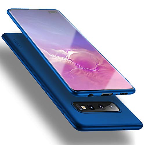 X-level für Samsung Galaxy S10 Plus Hülle, [Guardian Serie] Soft Flex Silikon Premium TPU Echtes Handygefühl Handyhülle Schutzhülle Kompatibel mit Galaxy S10 Plus 6,4 Zoll Hülle Cover - Blau