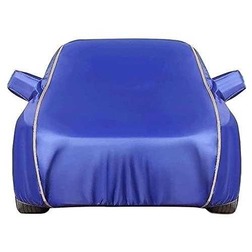 Ronglibai Funda Coche Exterior Funda para Coche para Audi A3 A4 A5 A6 A7 A8 TT TTS TTRS Impermeable Transpirable Anti-UV,Polvo, Viento, Nieve y Rasguño,Forro de algodón con Cremallera(Color:C,Size