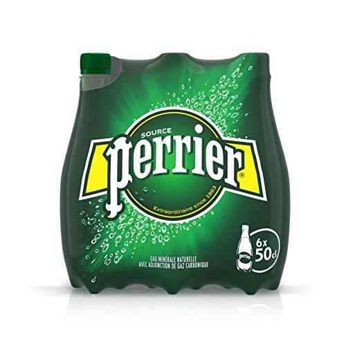 Perrier - Sprudelndes natürliches Mineralwasser 6X50Cl