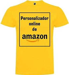 Camiseta Personalizable · Hombre · Manga Corta · 100% Algodón · Impresión Directa (DTG) Impresión · ¡No es un Vinilo Impre...